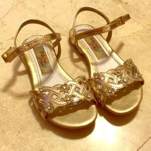 593f6ff92a308 peppa shoes gold flower shoes ...